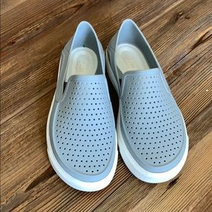 Crocs size 13 loafers